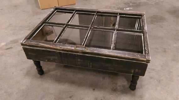 Rustic Coffee Table Shadow Box Coffee Table Reclaimed