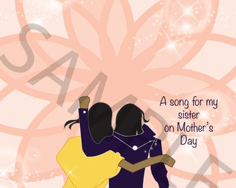 Sister Mother's Day Card
