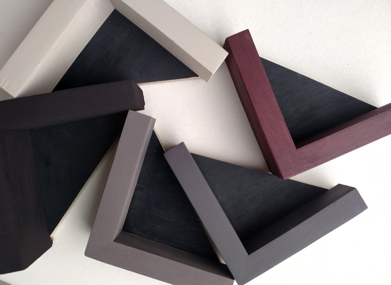 Custom Depth Wood Panel Floater Frame Total 1 1 4 Depth
