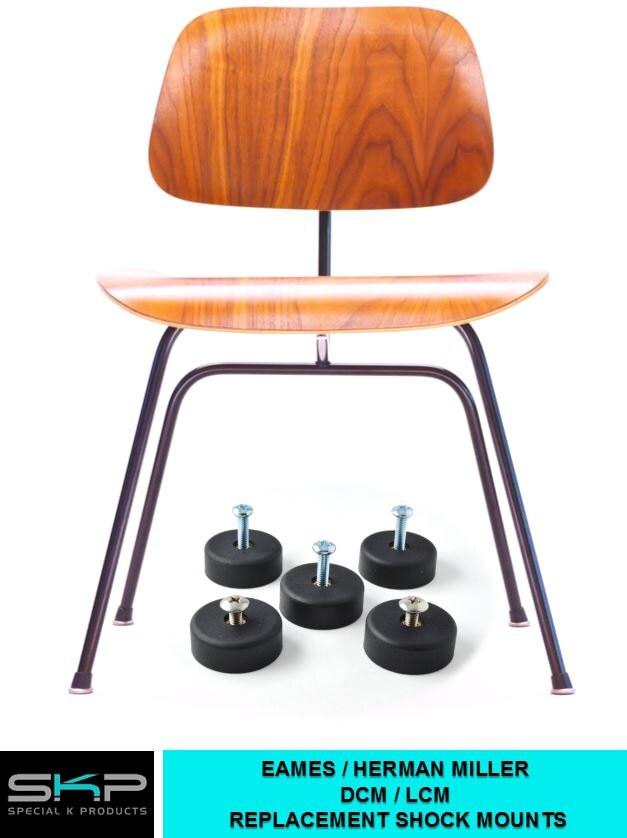 For eames herman miller dcm or lcm chair skp shockmounts shock - Eames chair shock mounts ...
