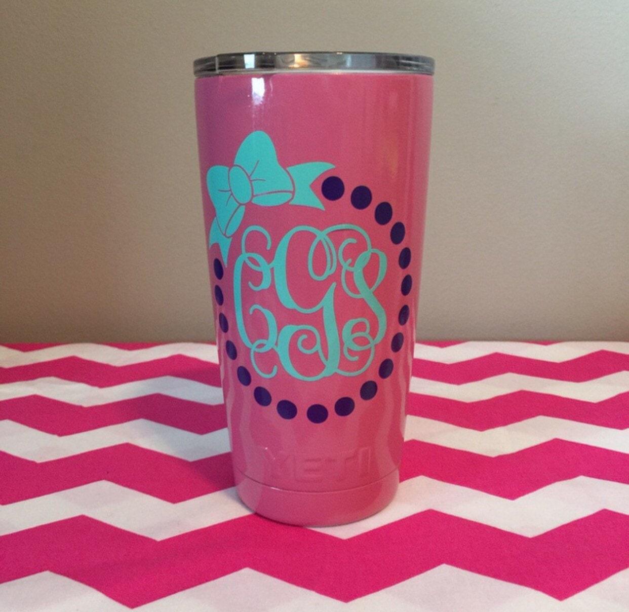 pink yeti cups