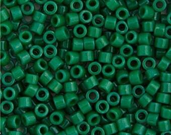 Miyuki Delica Beads 11/0 RD Green Jade