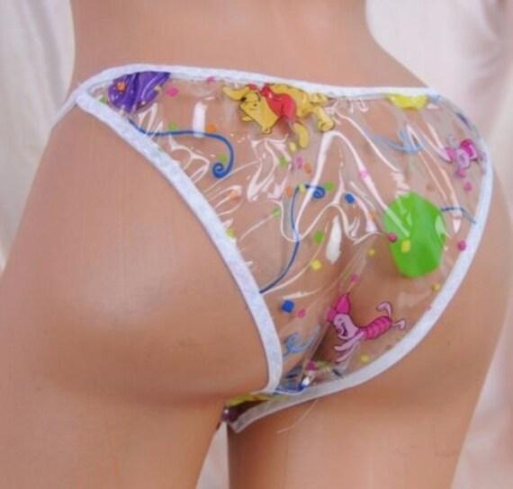 Custom Plastic Panties 118