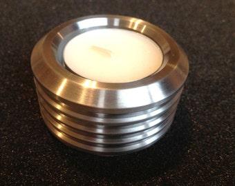 Handmade Steampunk, Sci-Fi tea light holder