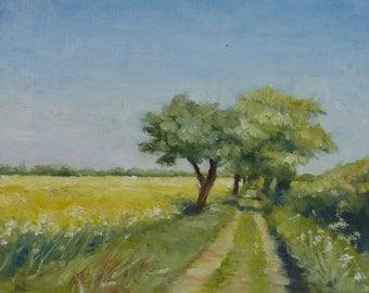 Norfolk landscape, Summer Walk At Mulbarton 2