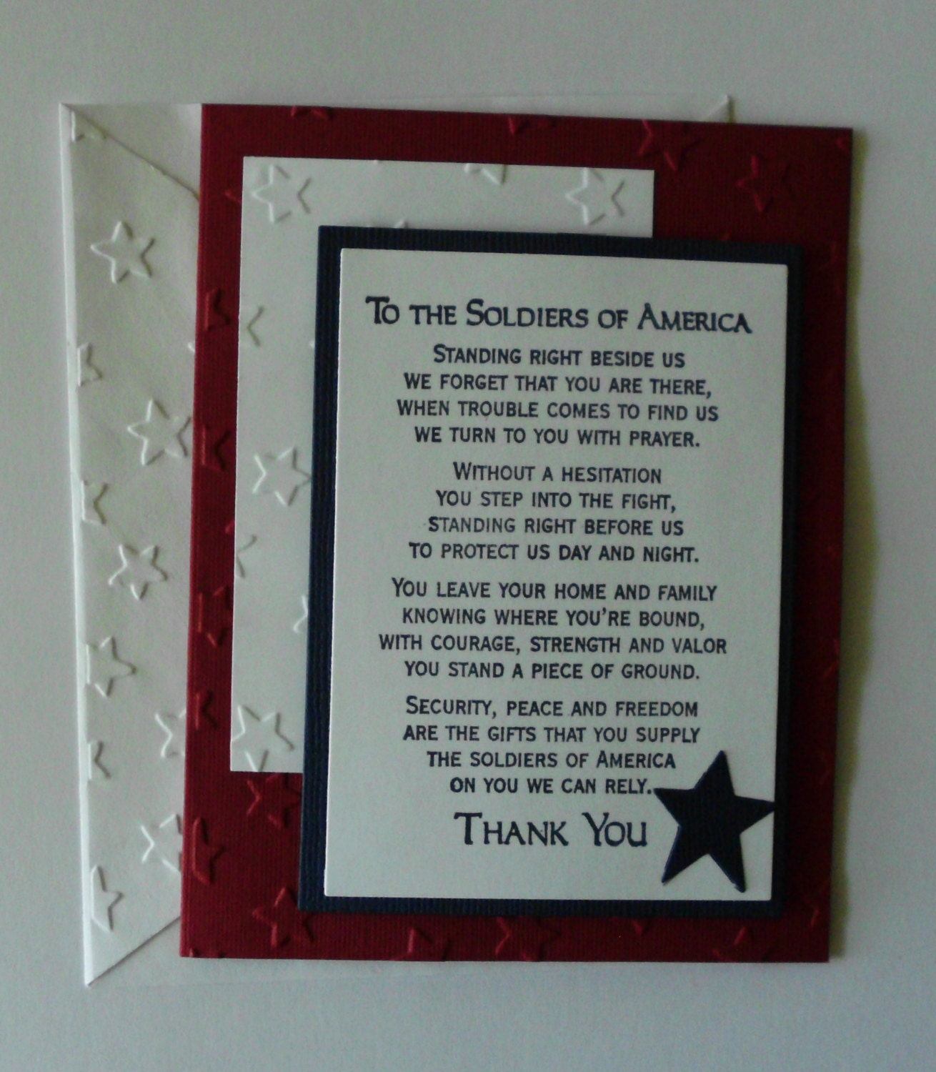 July 4th Thank You 4th of July Thank You Card
