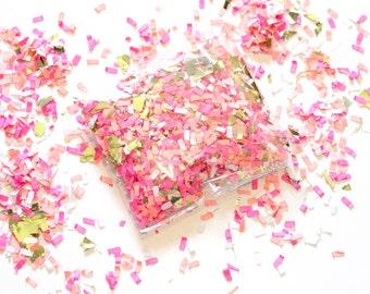 Pink & Gold Confetti  / Wedding Birthday Bridal Shower Party Supplies