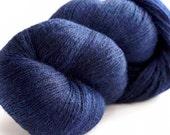 Prime Heathered Alpaca - Blue Navy