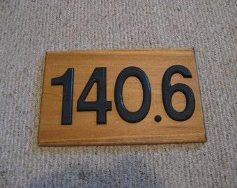 140.6 display plaque