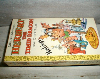 Mercer Mayer's *Herbert The Timid Dragon & Other Tales* VHS Tape