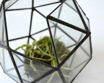 Stained Glass Terrarium- BIG SPHERE