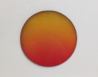 """Sun or Moon - Large - Metal Wall Art - (EE1l--) - 8"""",9"""" or 10"""" diameter"""