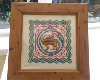 Celtic Embroidery (Mythical Creature)