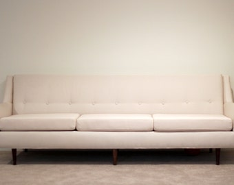 Vintage Flexsteel Mid-Century Sofa, Reupholstered - flat rate shipping