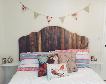 Queen Pallet Headboard - Variety of Styles