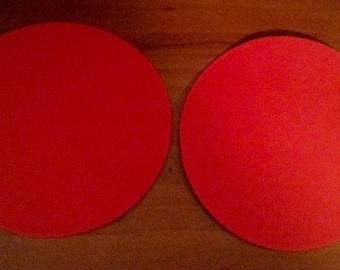 Die-Cut Circles 4 inch (25)