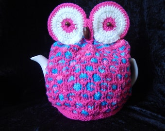 Retro Owl Tea Cosy