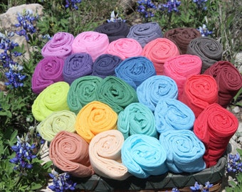 High-Quality Hand-dyed Cheesecloth Wraps for Newborn Photography Premium Grade 60