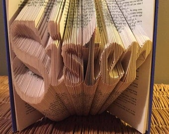 """Book folding pattern for """"Sister"""" +Free tutorial"""