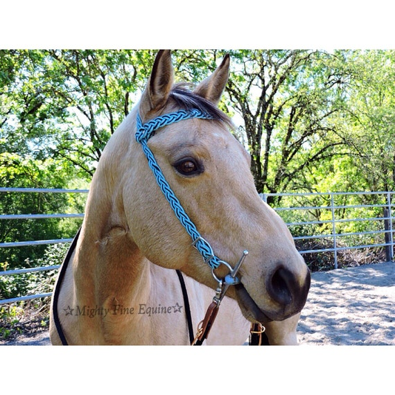 Handmade paracord horse bridle by mightyfineequine on etsy for Paracord horse bridle