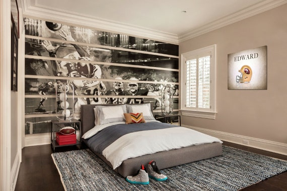 Personalized san francisco 49ers helmetboys room by for 49ers room decor
