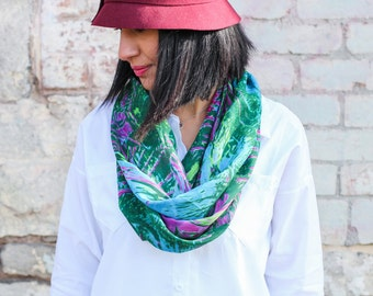 Forest Floor infinity scarf