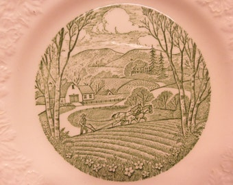 Pastoral, Taylor Smith Taylor,  Bread And Butter Plate