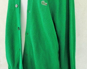 Kelly green Izod sweater - ladies medium or large - awesome sweater