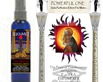 SEKHMET FIRE Water by Gypsy Goddess