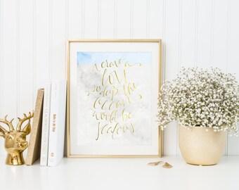Love Print - Hand Lettered