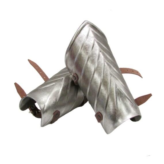 Larp Armor Fluted bracers