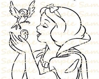 Snow White Party Favor Printable Coloring Book Pages Sheet Maleficent Colouring Birthday Supplies