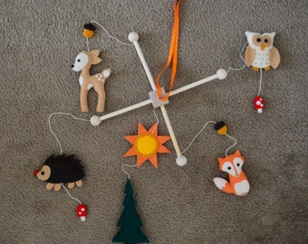 Baby Mobile - Woodland Creatures