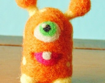 Needle Felted Monster