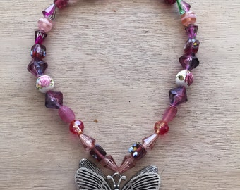 Romantic Butterfly Necklace