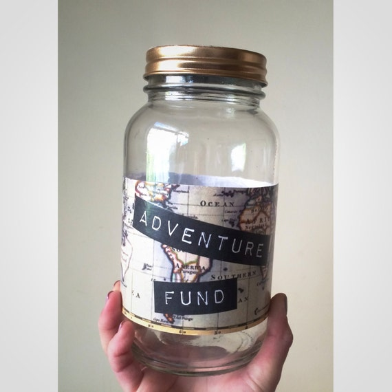 Glass Piggy Bank To Start Saving For Travel Custom By