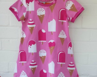 Ice Cream Dress in organic cotton jersey