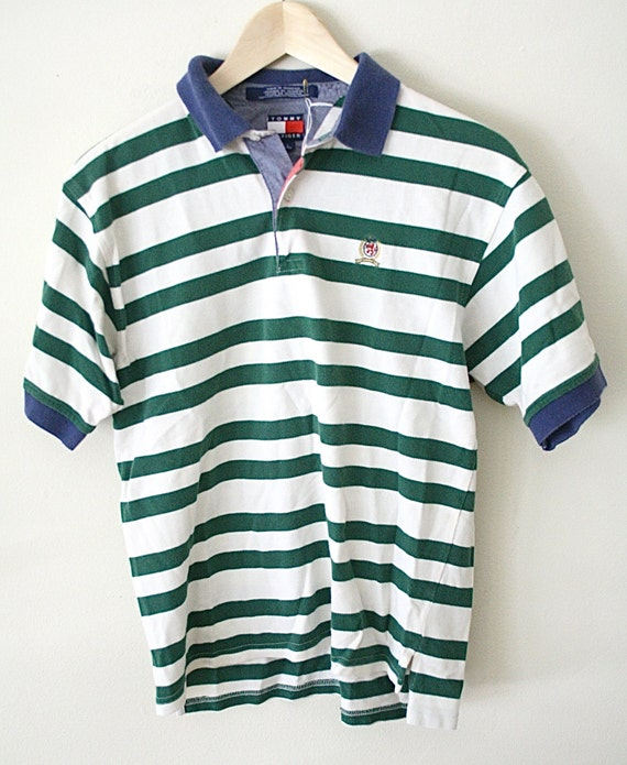 90s tommy hilfiger polo shirt collared shirt by. Black Bedroom Furniture Sets. Home Design Ideas