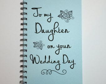 To My Daughter On Your Wedding Day Gift