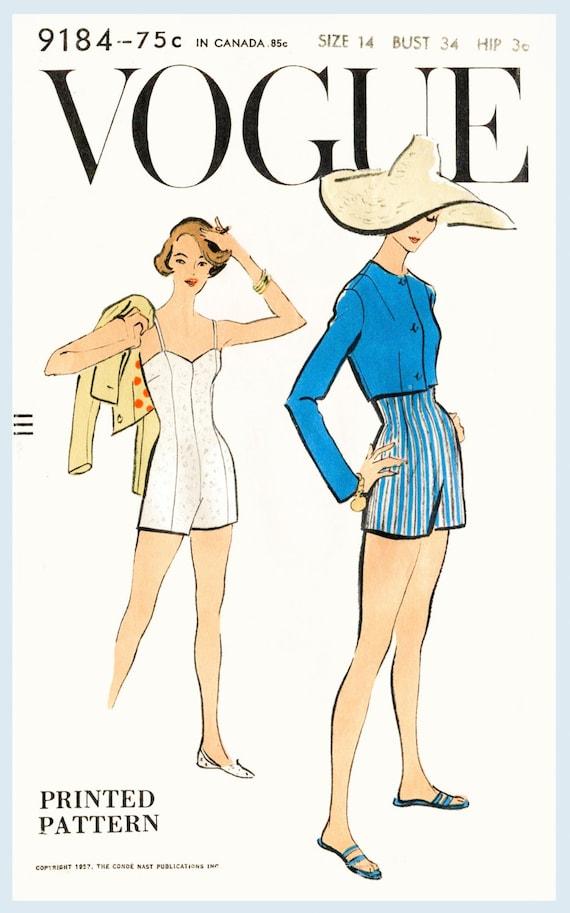 Vintage Swim Suit Pattern 54