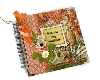 Love Scrapbook Mini Album, Gift For Her, Love Memory Book, Wedding Anniversary Album, Family Scrapbook Album, Love Photos Album