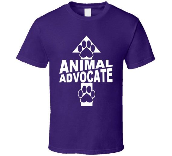 Animal Advocate Unisex T Shirt Animal Welfare By