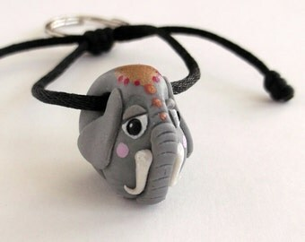 Cute Elephant Keychain Gift idea