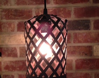 Upcycled Industrial Metal  Light.