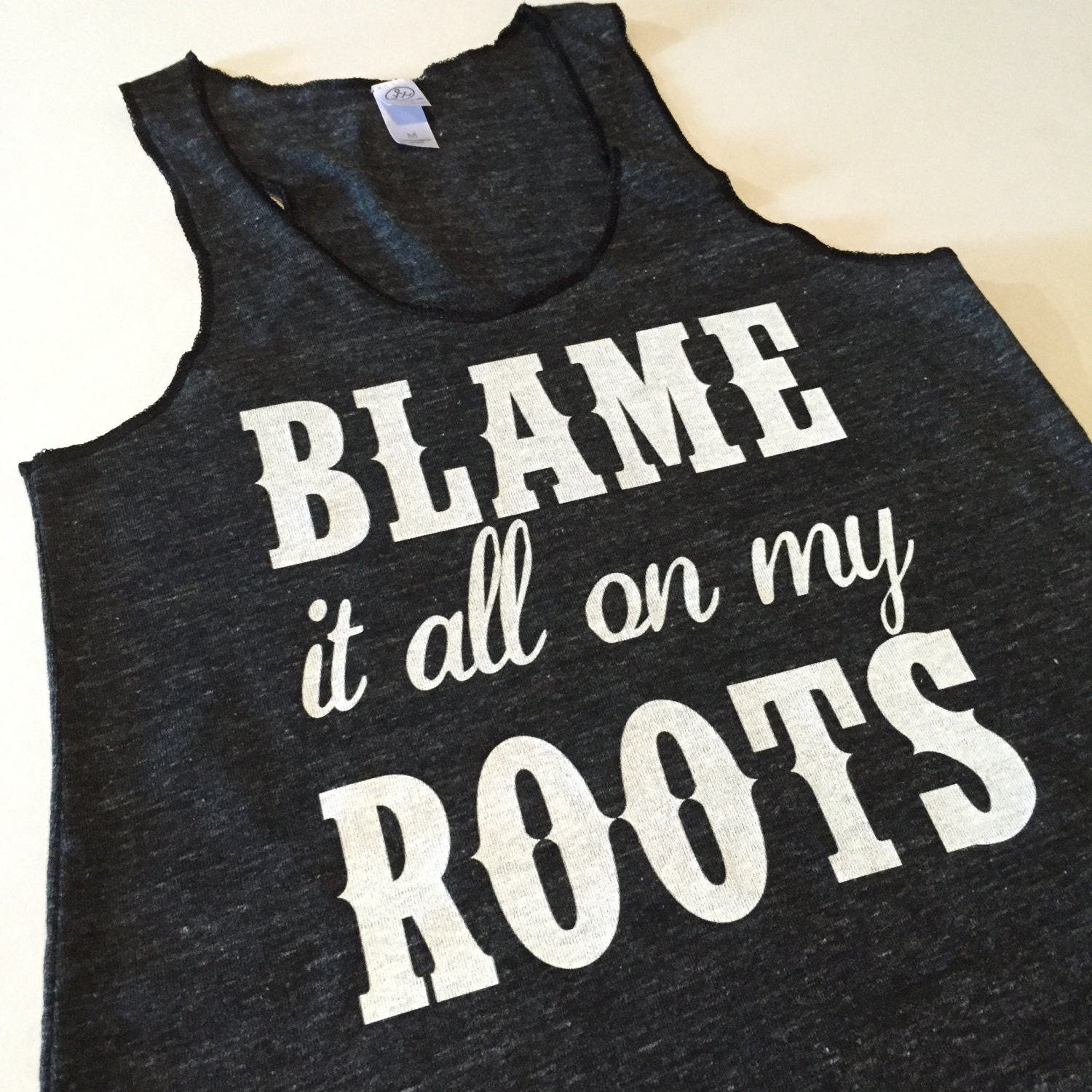 Garth Brooks Shirt Tank Blame It All On My Roots By