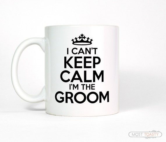 Funny Wedding Gifts For Groom: Funny Gift For Groom Mug Groom Gift I Can't By MostToastyGoods