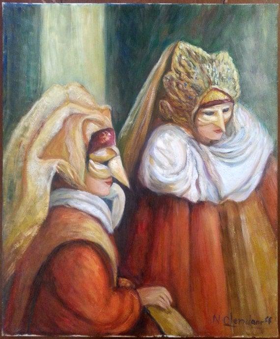 oil painting original tableau peinture huile