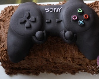 Fondant covered, Rice Crispy Game Controller