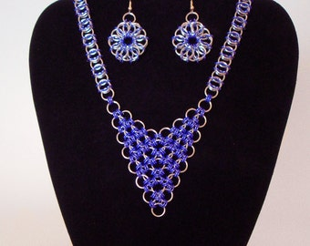 Celtic Visions with Triangle Pendant Set