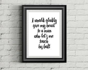 Cute quote - motivationa poster, wall decor, home decor